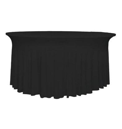 Unicover Tafelhoes Stretch Deluxe | Zwart | Beschikbaar in 3 Maten