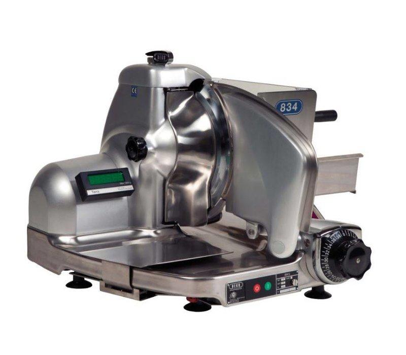 DEKO Holland Rechtsnijmachine 834 Combi Safe | tot 14mm | DEKO Holland | Incl. Weeg-unit | 625x585x460(h)mm