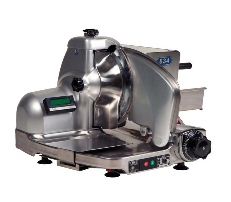 DEKO Holland Right Slicer 834 Combisafe | to 14mm | DEKO Holland | Incl. Weighing unit | 625x585x460 (h) mm