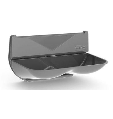 XXLselect Universal Retention / Wassersammler für Händetrockner | ABS Polycarbonat | grau