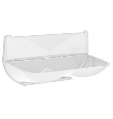 XXLselect Universal Retention / Wassersammler für Händetrockner | ABS Polycarbonat | weiß