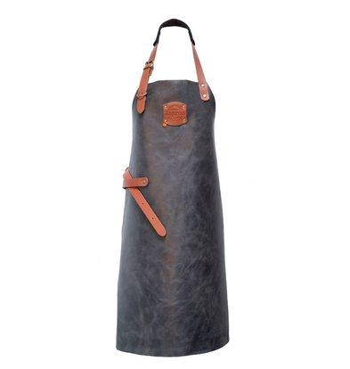 XXLselect Leather Apron Florida | Antra | 74 (L) x60 (W) cm | Adjustable | printing possible