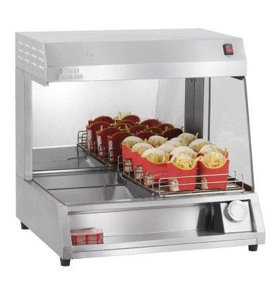 Casselin Pommes frites Warming Unit | 7 Regale | 1kW | 680x600x665 (h) mm