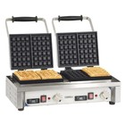Casselin Double waffle iron | 3200W / 230V | 566x415x290 (h) mm