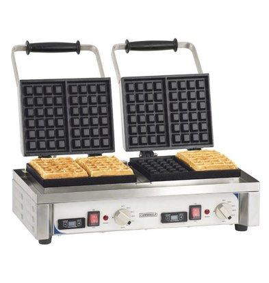 Casselin Doppel Waffeleisen | 3200W / 230V | 566x415x290 (h) mm