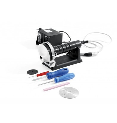 Hendi Kebabsmes Electric | Profiline | 230 | With ao Knife Sharpener Knife and Reserve