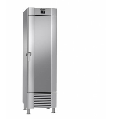 Gram Edelstahl Kühlschrank + Tiefe Kühlung | Gram MARINE MIDI M 60 CCH 4M | 407L | 635x770x2115 (h) mm