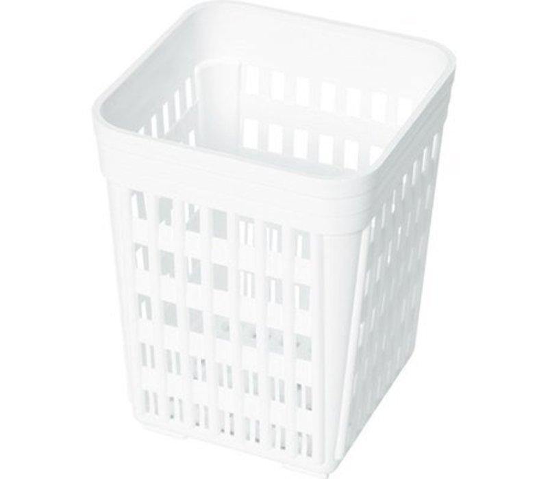 Hendi Besteck Weiß   110x110x140 (h) mm