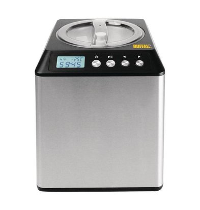 Buffalo Stainless Steel Ice Machine | 4 liters / hour | 1800W / 230V | 272x315x362 (h) mm