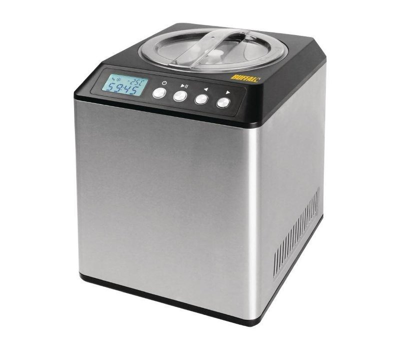 Buffalo Edelstahl-Eis-Maschine | 4 Liter / Stunde | 1800W / 230V | 272x315x362 (h) mm