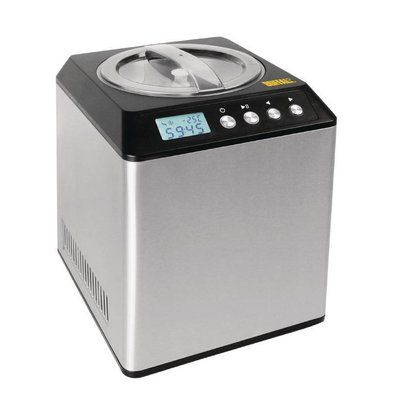 Buffalo Stainless Steel Ice Machine | 4 liters / hour | 1800W / 230V | 272x315x362 (h) mm