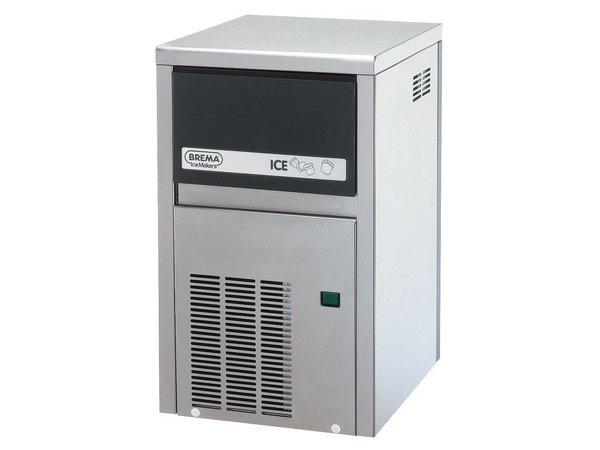 Brema Eismaschine 21kg / 24 | Bunker 4kg | Brema CB 184 Edelstahl