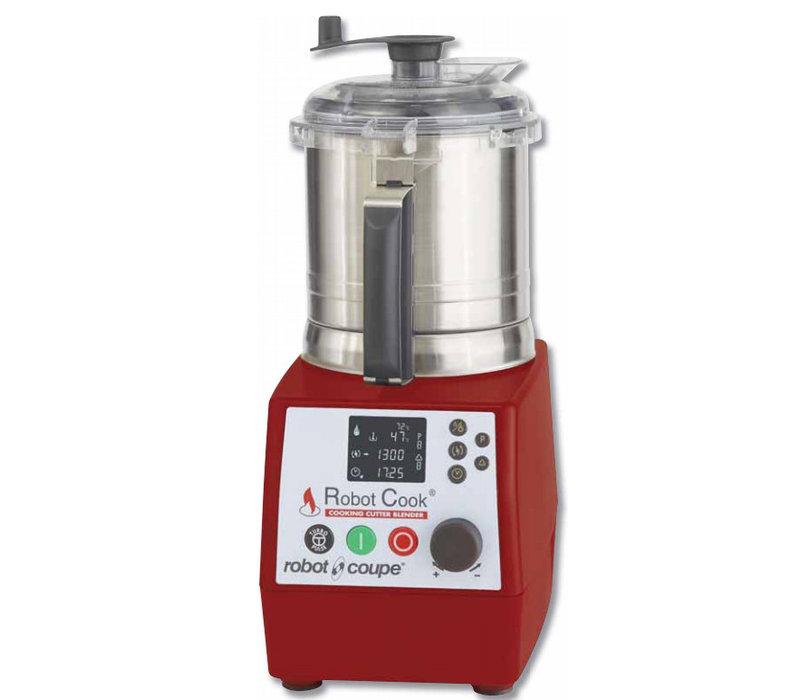 Robot Coupe Lebensmittel Robot Koch | Erhitzen auf 140 ° C | 3,7 Liter | 4500 RPM