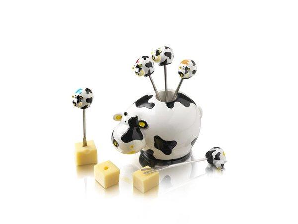 Boska Party-Picks Set COW | 100x95x110 mm