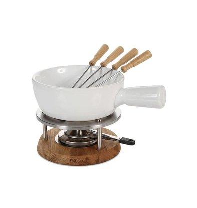 Boska Fondue Set Bianco   Keramik-Schüssel   295x220x190mm