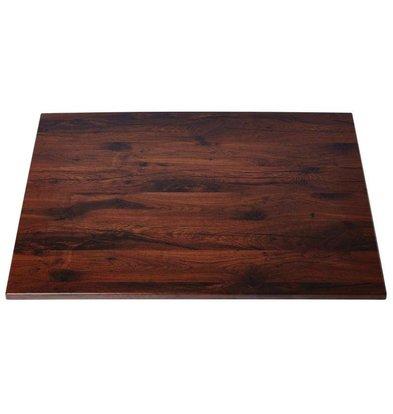 Werzalit Tischplatte Werzalit | Antique Oak | 70x70cm