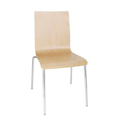XXLselect Stuhl aus Buche mit Platz Teppich | stapelbare | 4 Stück