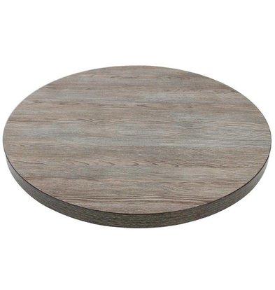 XXLselect Tabletop Vintage Wood | Ø600mm