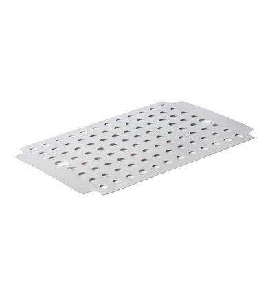 XXLselect Edelstahl Rost für Fleischschale | 500x350x55mm