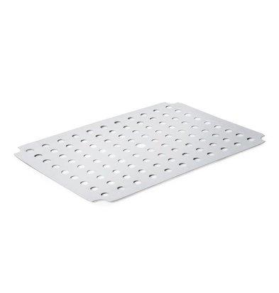 XXLselect Edelstahl Rost für Fleischschale | 410x310x55mm