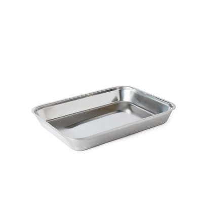 XXLselect Stainless steel meat tray | 410x310x55mm