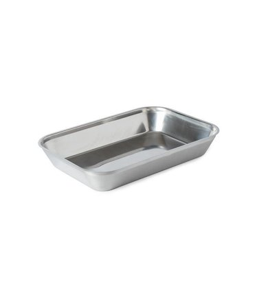 XXLselect Stainless steel meat tray | 350x240x55mm