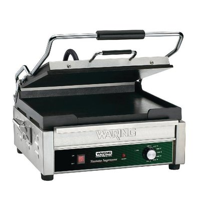 Waring Commercial Panini Grill Gegroefd | WFG275K | 2kW | 394x292x235(h)mm