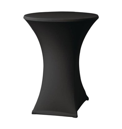 XXLselect Samba Statafelrok | für Tabellen Ø85x115 bis (h) cm | schwarz