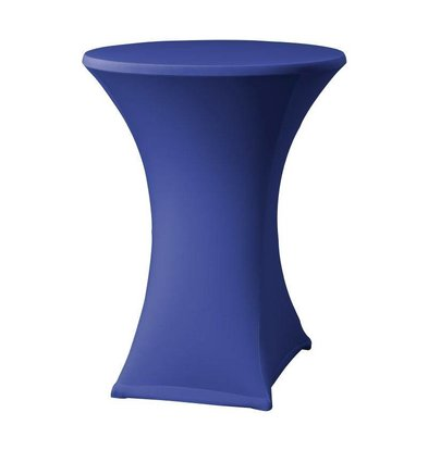 XXLselect Samba Statafelrok | for Tables Ø85x115 to (h) cm | Blue