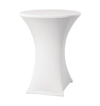 XXLselect Samba Statafelrok | for Tables Ø85x115 to (h) cm | White