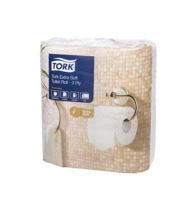 XXLselect Toilet rolls 3-layer SUPER SOFT | Tork | 10x 4 Packs