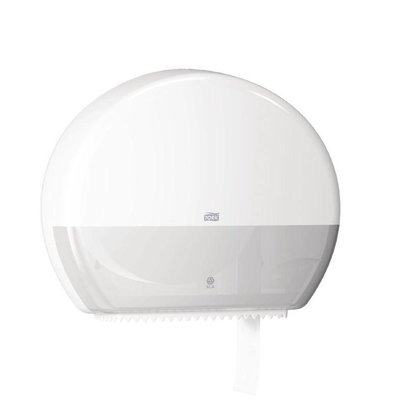 XXLselect Toiletroldispenser Wit   Tork Jumbo   437x133x360(h)mm