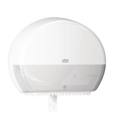Tork Toiletroldispenser Weiß | Tork Mini Jumbo | 345x132x275 (h) mm