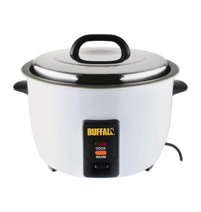 Buffalo Reiskocher 4,2ltr / 40 Portionen | 1,55kW | 380x320x350 (h) mm
