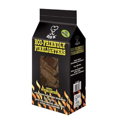 BIG K Firelighters Environmentally friendly | Big K | Bag 96 Pieces