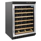 Polar Wine Cooler Polar | For 54 Bottles | 7 Shelving | 595x570x865 (h) mm