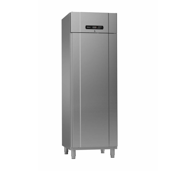 Gram Catering Edelstahl Kühlschrank   Standard PLUS 69 Gramm K FFG   610L   GN 2/1   700x895x2125mm
