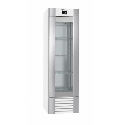 Gram Hospitality Kühlschrank Weiß | Gram ECO MIDI KG 60 LLG 4W K | 407L | 600x771x2000 (h) mm