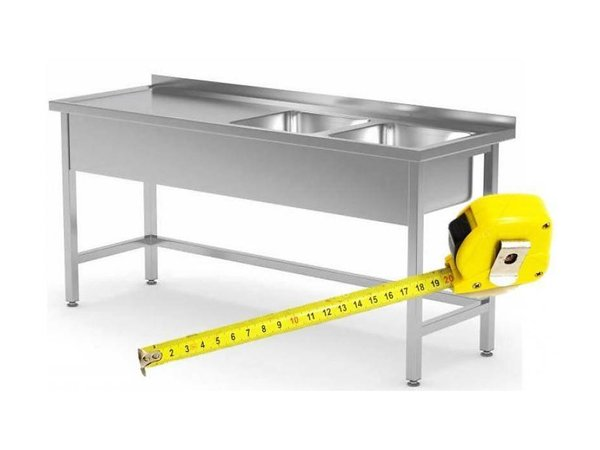 XXLselect Stainless Steel Sink Tailor - All types of Stainless Steel Sinks available in any size