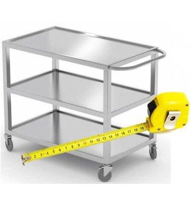 XXLselect Edelstahl-Carts auf Größe - alle Arten von Edelstahl-Carts in jeder Größe