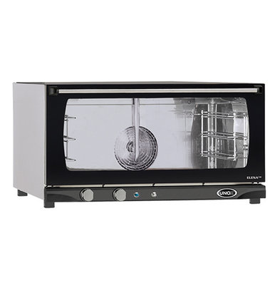 Unox Convection Oven - 800x770x (H) 510mm - XFT183 ELENA Manual - 3 x 600x400mm