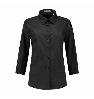XXLselect Bluse Julie Zwart | Traditioneller Knoten | XS t / m 4XL