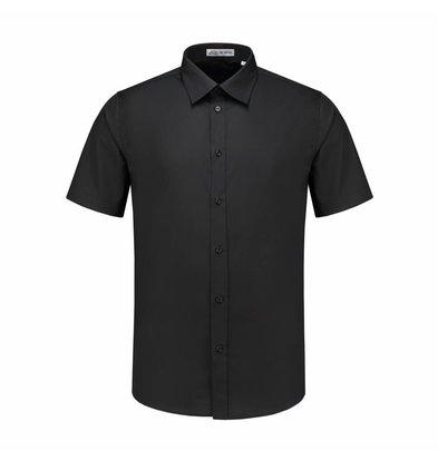 XXLselect Heren Overhemd Brad Zwart | S t/m 4XL