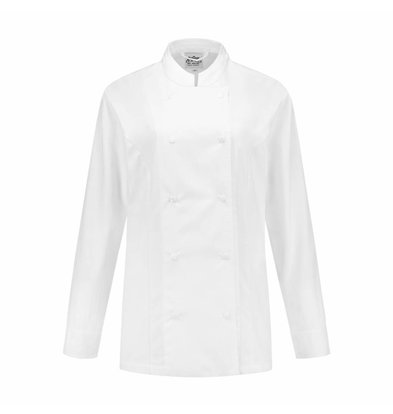 XXLselect Ladies Cookhouse Lizzy White | XS through 4XL
