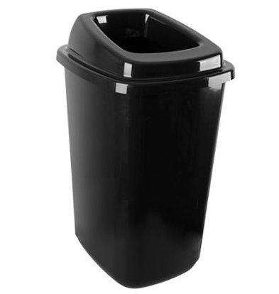 Emga Abfallbehälter 45L Sortierung | Incl. Aufkleber | 400x340x610 (h) mm