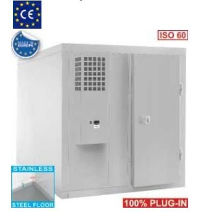 Diamond Cooling Stainless Steel | 6310 liters | 900W | 1960x1960x2070 (h) mm