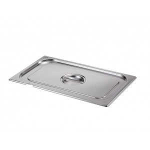 Saro Gastronorm lid with hole for ladle GN 1/3