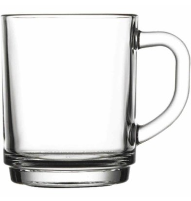 XXLselect Teacup Glas | 250 ml | Ø78x94 (h) mm | Pro 24 Stück