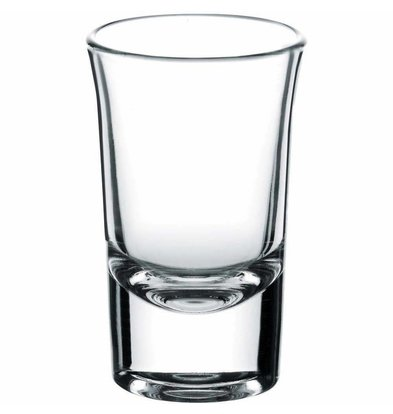 XXLselect Wodka Shots Glass Boston | 40ml | Ø44x71 (h) mm | Pro 24 Stück