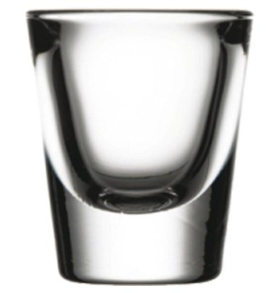 XXLselect Wodka Shots Glass Boston | 31 ml | Ø50x59 (h) mm | Pro 24 Stück